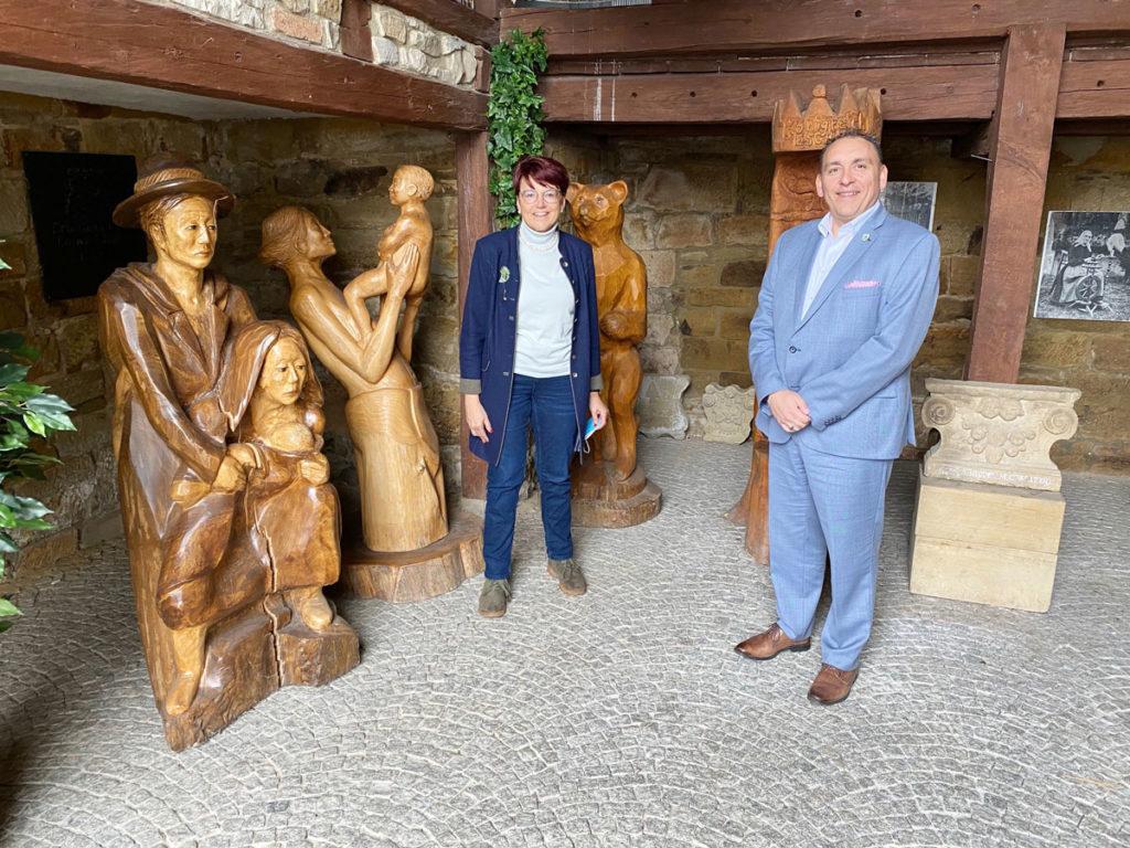 Besuch in Eschach