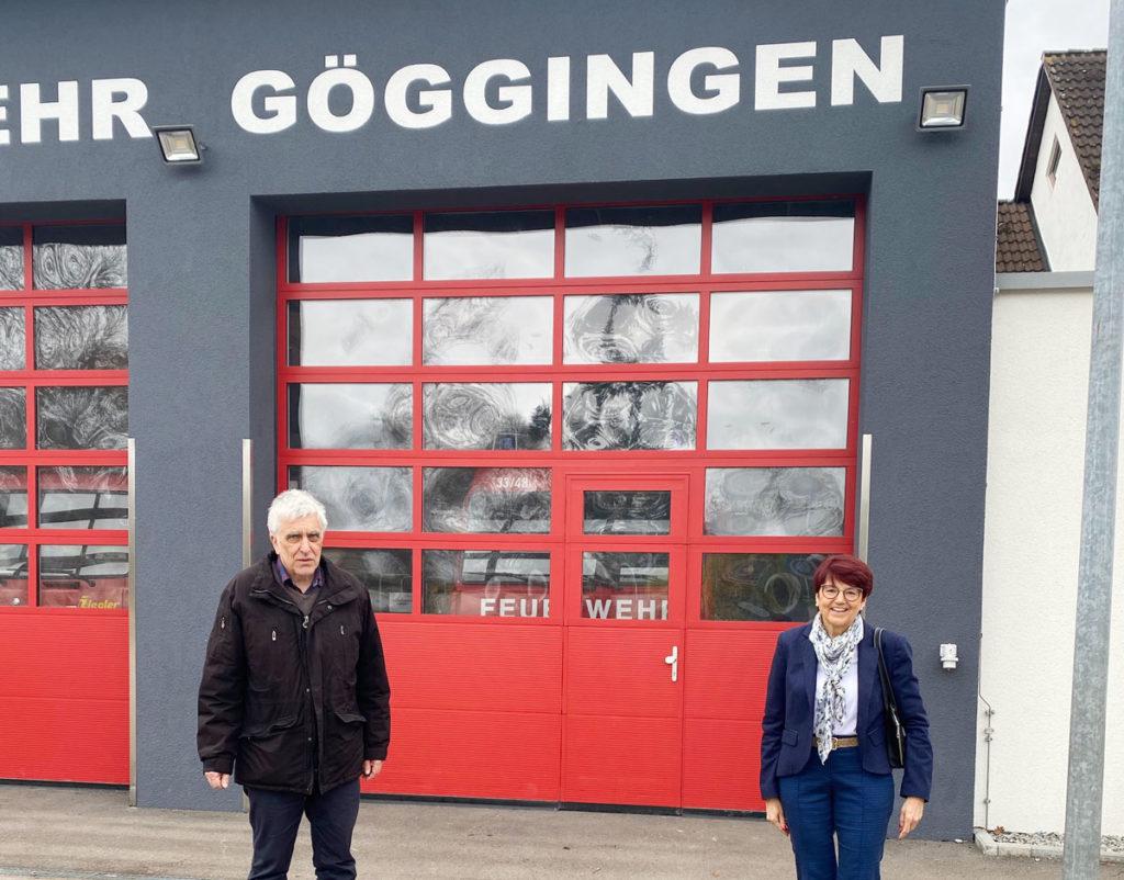 Besuch in Göggingen