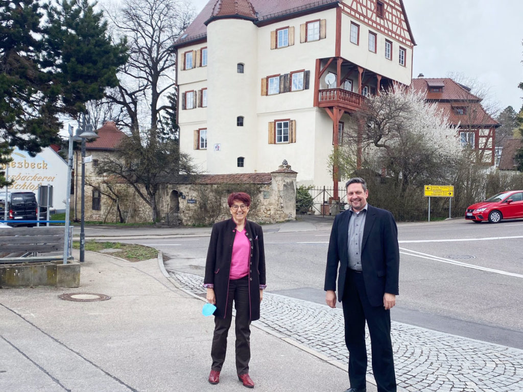 Besuch in Leinzell