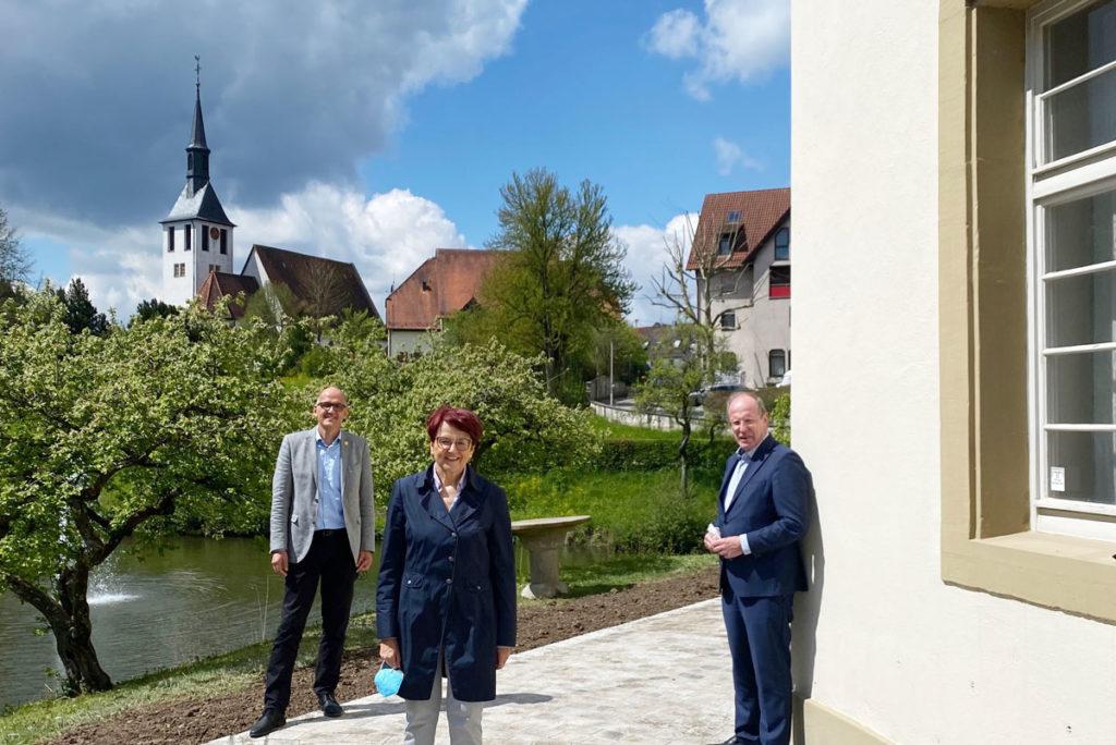 Besuch in Oppenweiler