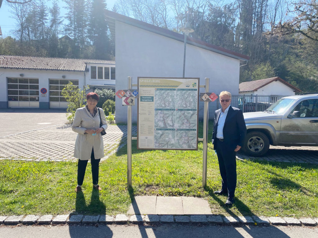 Besuch in Spiegelberg