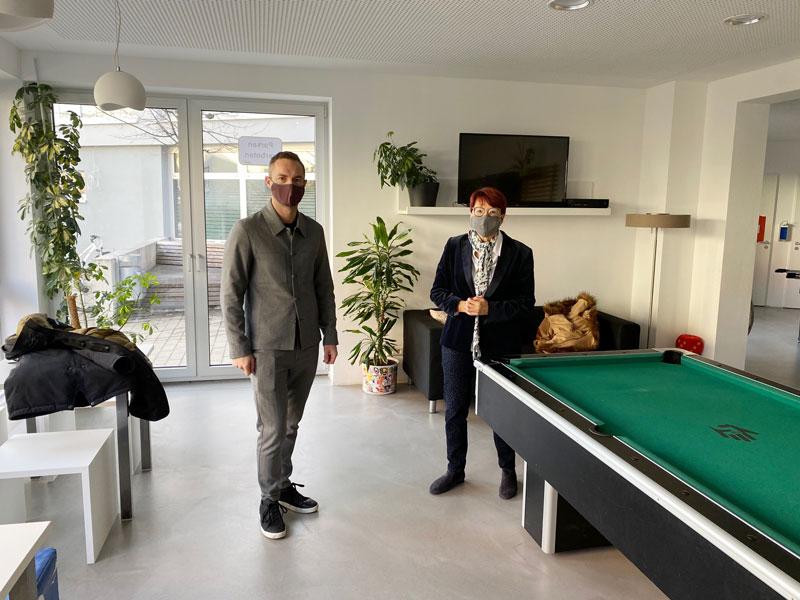 Besuch in Heubach
